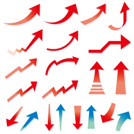 Illustration pour Arrow used for business - image libre de droit