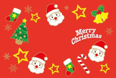 Illustration pour An Illustration of a Winter Beautiful Christmas image. - image libre de droit