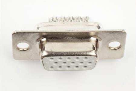female 15 pin VGA jack for soldering