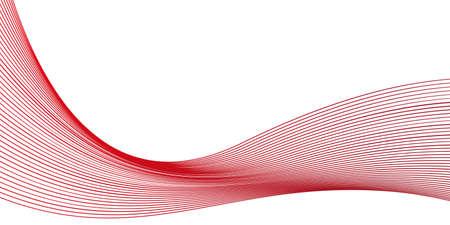 Illustration pour red wavy background - image libre de droit