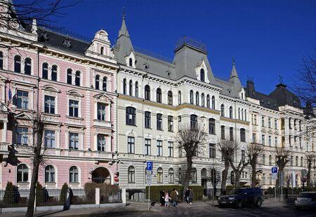 Riga, Elizabetes Street 15-19. Eclectic (19th century).