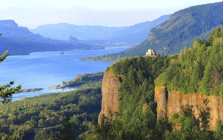 Crown point, Columbia River Gorge Oregon.
