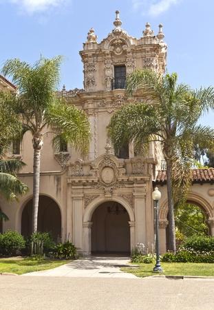 Spanish architecture Balboa park San Diego California