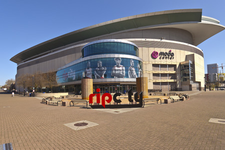 Rose Quarter Moda Center Portland Oregon.