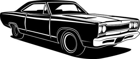 Illustration for Car vector illustration for conceptual design. - Royalty Free Image