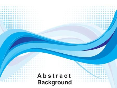 Foto de abstract blue web background vector illustration  - Imagen libre de derechos