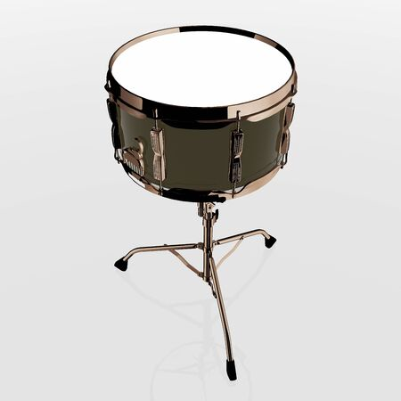 3D SNARE DRUM IMAGE