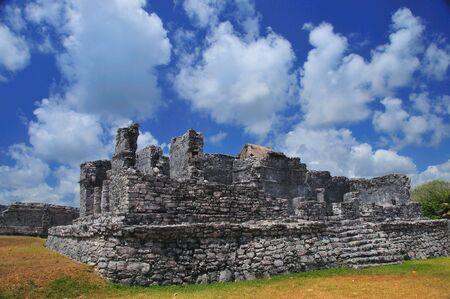 Mayan Ruins at Tulum Yucatan Peninsula Mexico #2