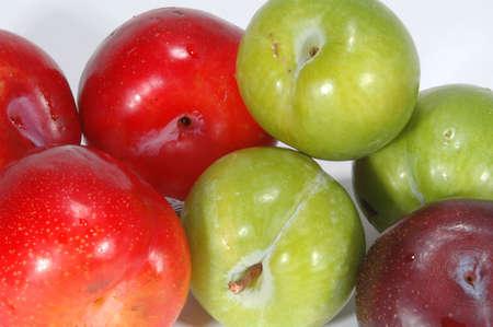 plum-a-rama red, green, black plums
