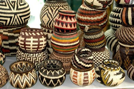 panama embera indian woven baskets 824