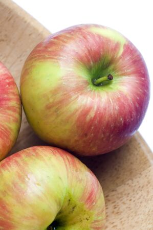 honeycrisp variety of apples crisp juicy and sweet a cross between macoun and honey gold grown in canadaの写真素材