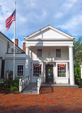 Photo pour Post Office historic building Bedford Village New York - image libre de droit