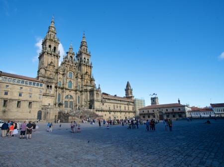 Cathedral of Santiago de Compostela, Obradoiro square