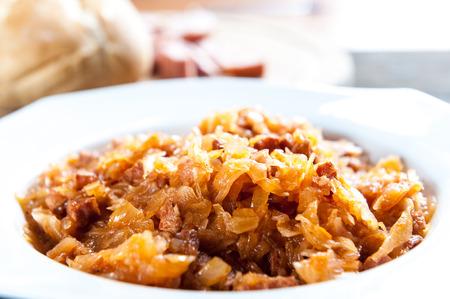 Photo for Bigos - traditional Polish cuisine dish - Royalty Free Image