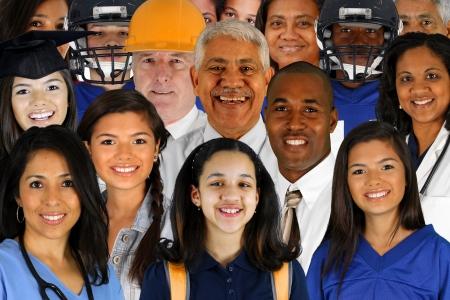 Foto de People of all different races and professions - Imagen libre de derechos