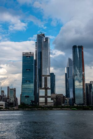 Hudson Yards, a new real estate development in the West of Manhattanの素材 [FY310128755550]