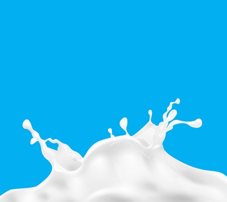 Vektor für Milk splash vector background - Lizenzfreies Bild