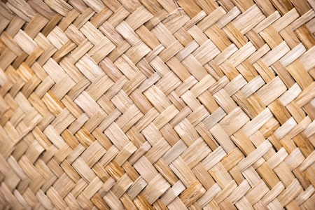 Photo for Wicker rattan texture - Royalty Free Image