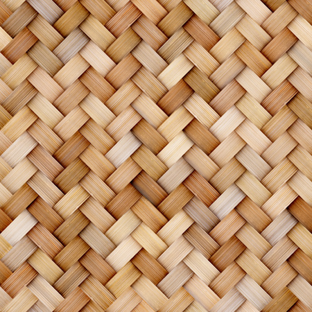 Photo pour Wicker rattan seamless texture background for CG - image libre de droit