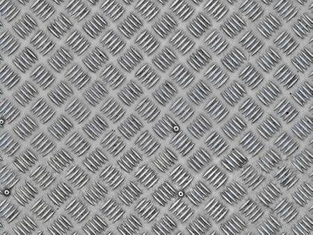 Photo pour metal plate with press out pattern seamless texture - image libre de droit