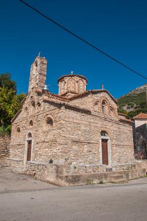 A church in Mani Peninsula, Peloponnese, Greece