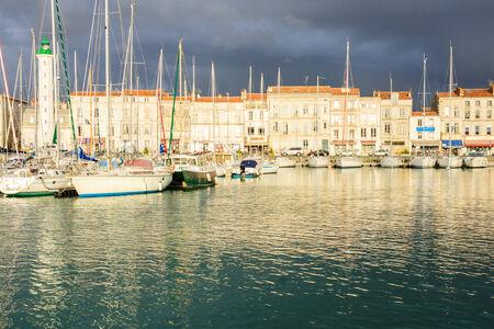 The Old Port (Vieux Port) of La Rochelle, France