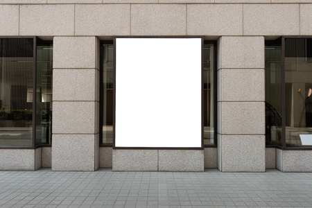 Photo for Store Front with Big Window - Royalty Free Image