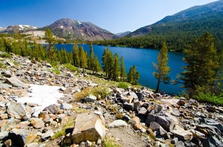 Tenaya Lake At Yosemite