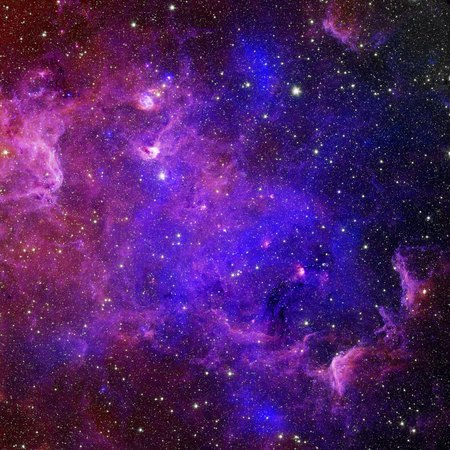 Foto de Galaxy stars. Abstract space background. Elements of this image furnished by NASA - Imagen libre de derechos