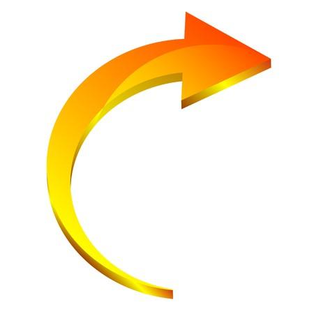 3d arrow