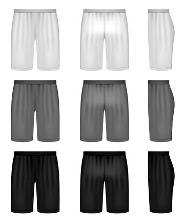 shorts - shades of gray clothing set
