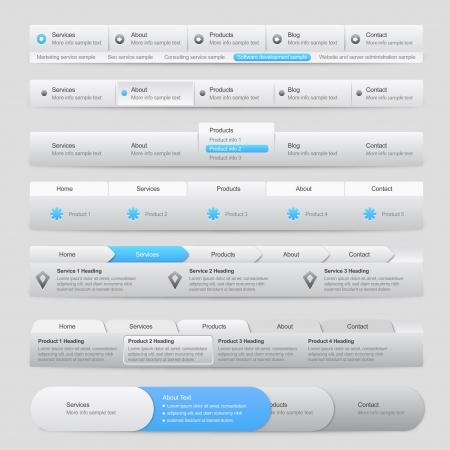 Web Site Menu Navigation
