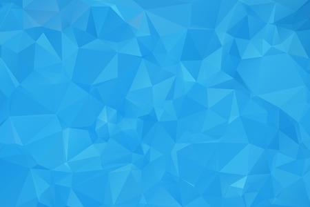 Illustration pour Blue Triangular Background - image libre de droit