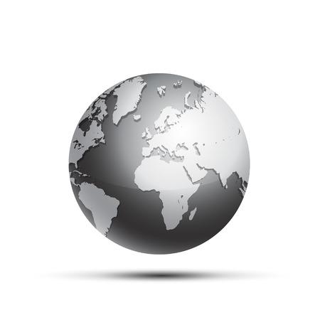 Ilustración de Earth Globe - Imagen libre de derechos