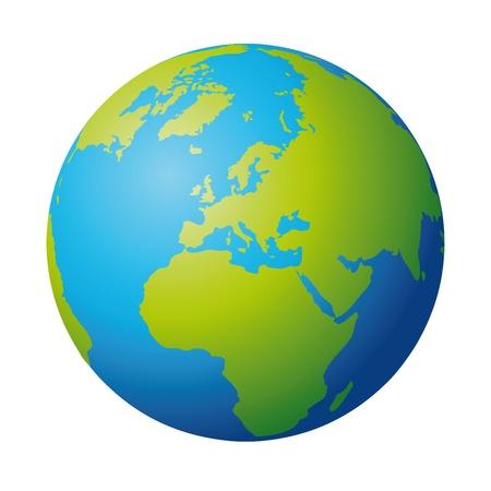 world globe: Royalty-free vector graphics