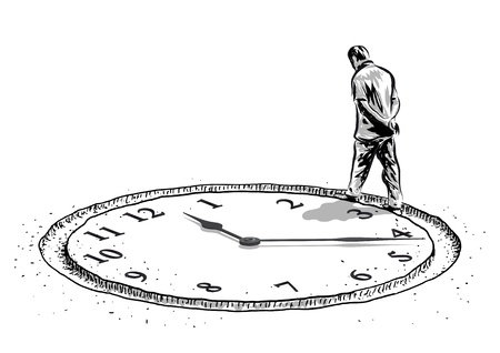 man and the time
