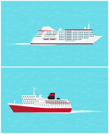 Photo pour Water Transport Traveling Vehicles Means Vector - image libre de droit