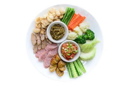 Thai northern appetizer