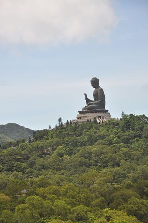 Buddha Statue Mountain
