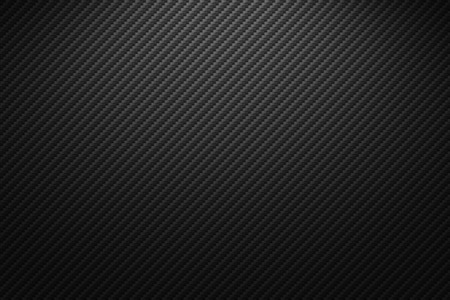 Photo for Vector carbon fiber texture. Dark background with lighting. - Royalty Free Image