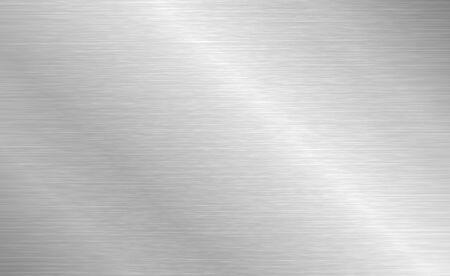 Photo pour Vector brushed metal texture. Steel background with scratches. - image libre de droit