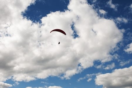 Paragliding is the recreational and competitive adventure sport of flying paragliders