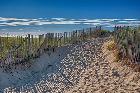 Summer at Cape Cod - entranc