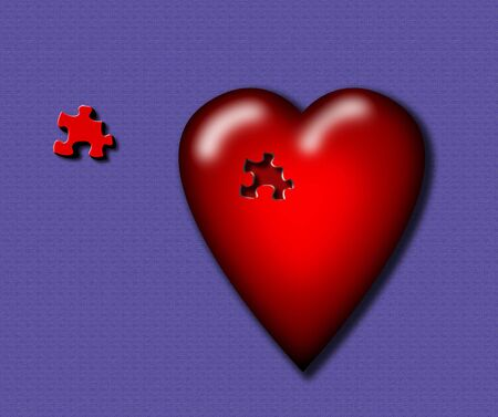 missing puzzle piece love