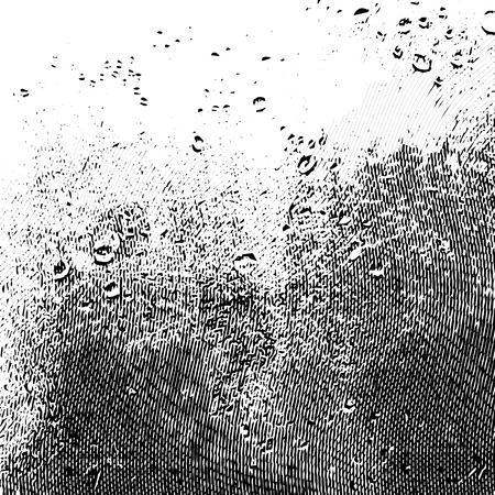 Illustration for Background for decoration. Damaged grunge texture on a white background.Abstract design - Royalty Free Image