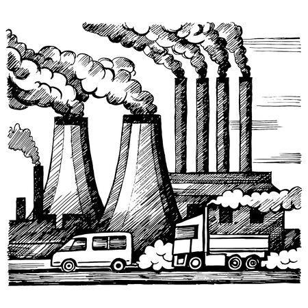 Ecology air and atmosphere pollution