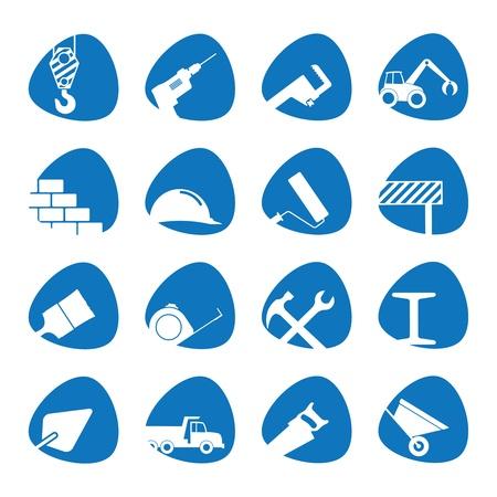 Illustration pour illustration on the theme of building - image libre de droit