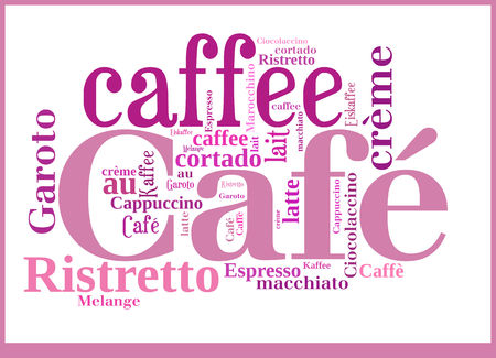 Word Cloud International Caffee specialities