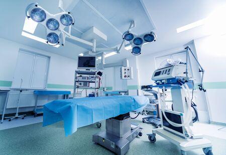 Foto für Modern equipment in operating room. Medical devices for neurosurgery. Background - Lizenzfreies Bild