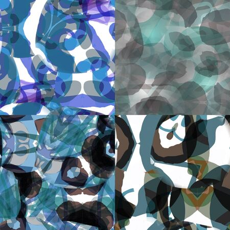 Digitally created seamless colorful texture.